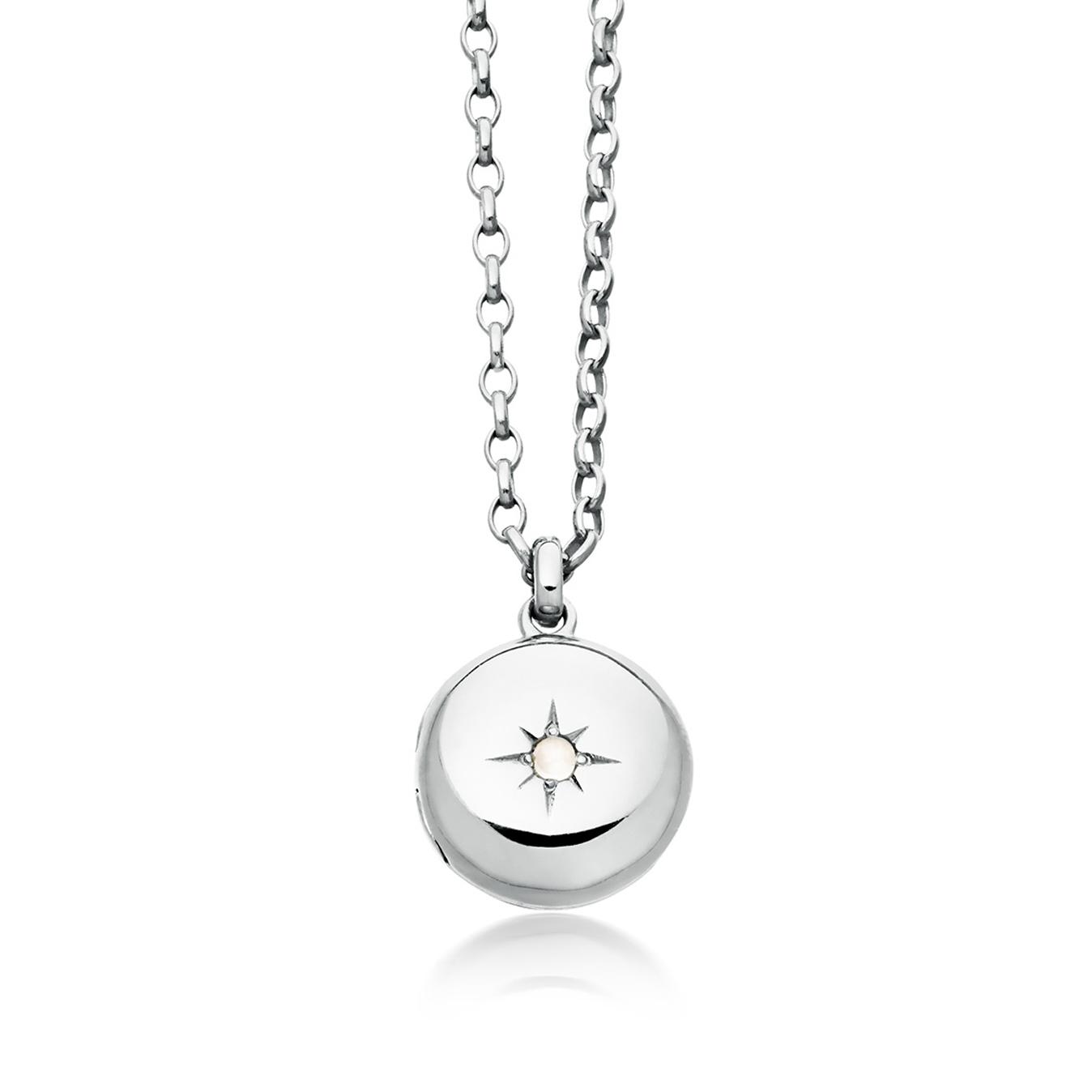 Little Astley Moonstone Locket Necklace