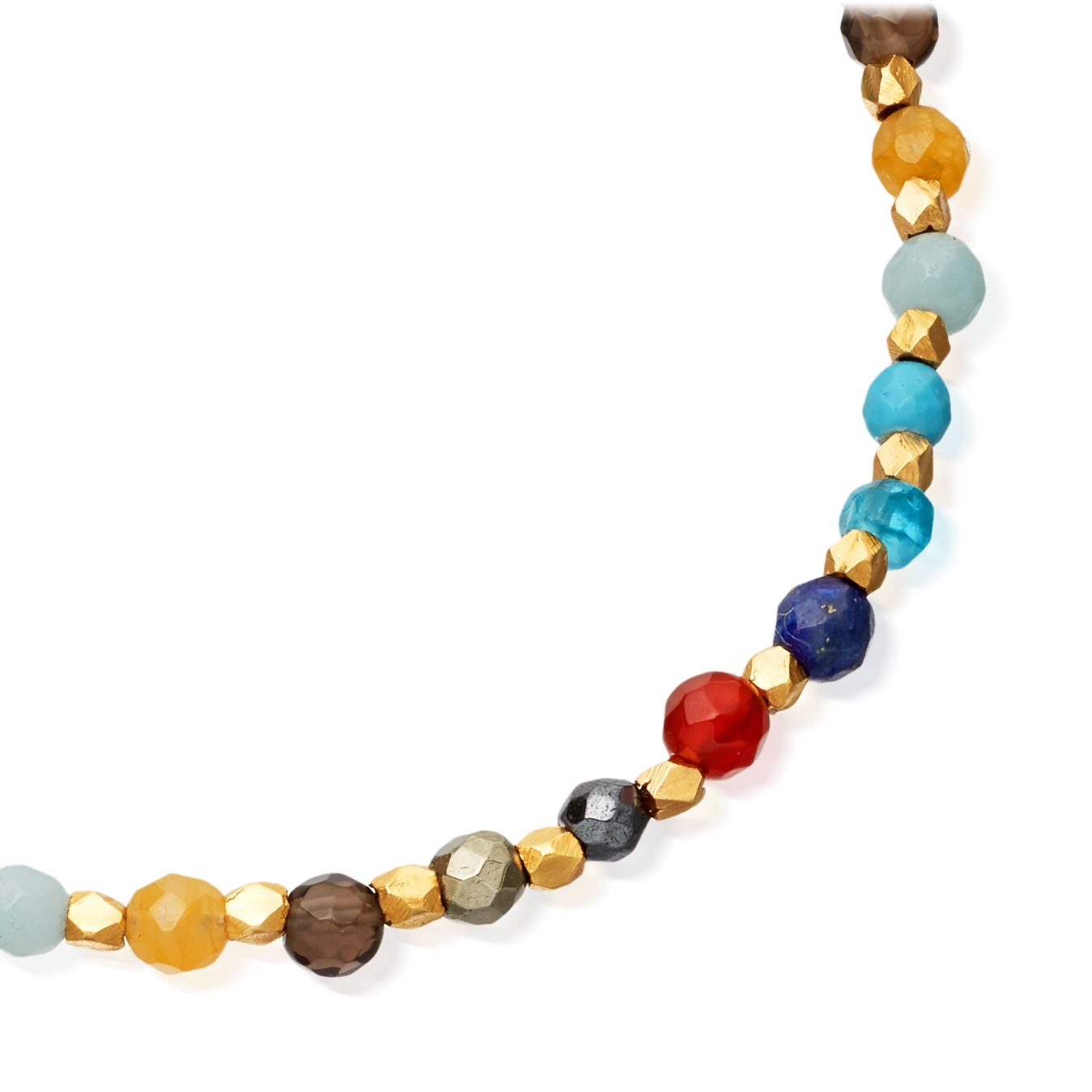Rainbow Skinny Biography Bracelet