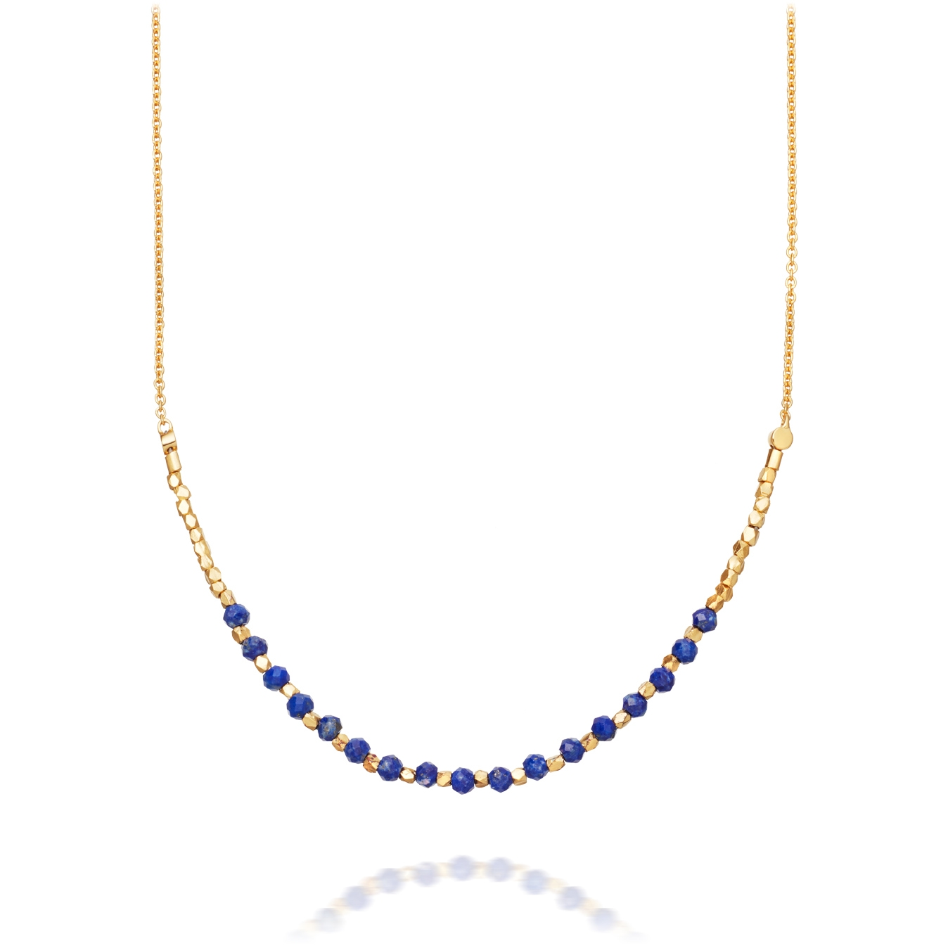 Lapis Detail Biography Necklace