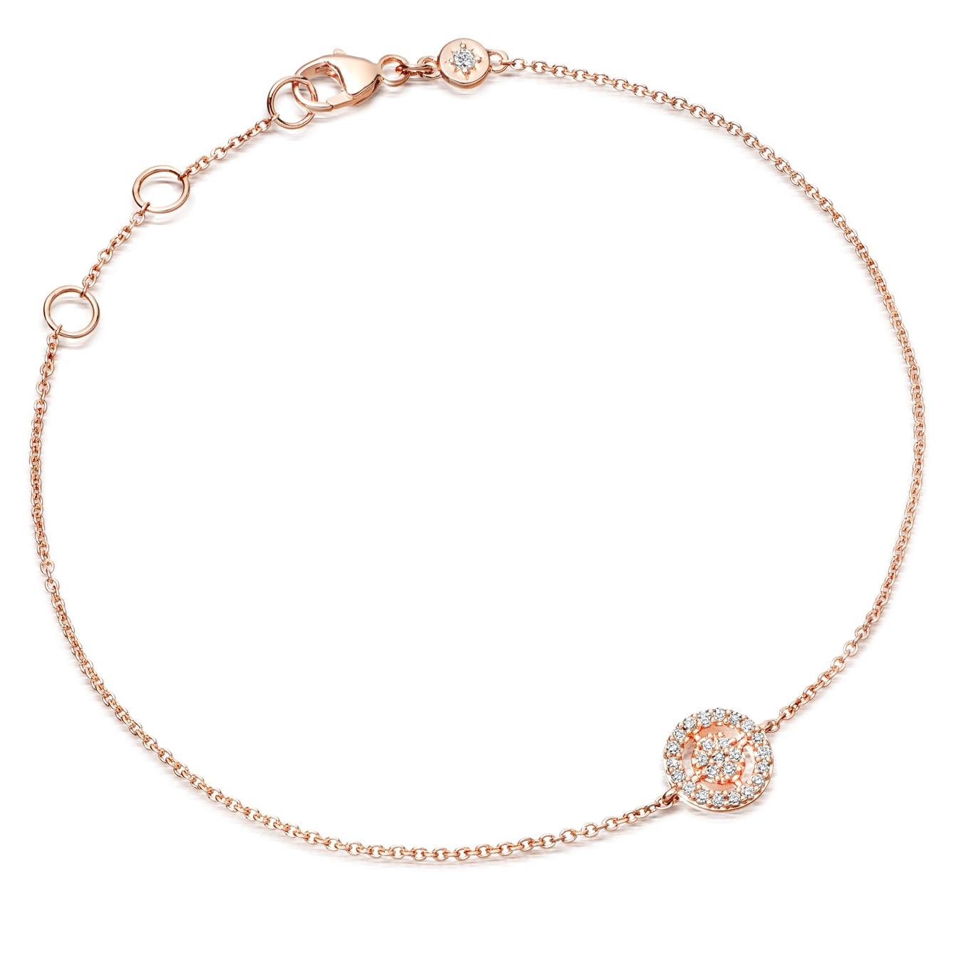 Mini Icon Aura Diamond Bracelet