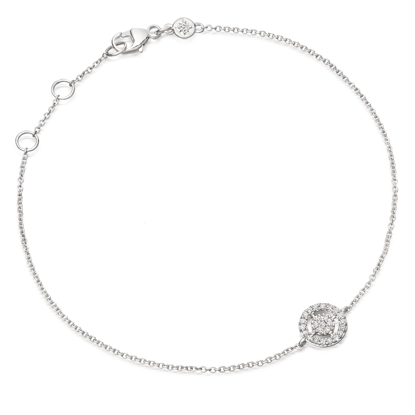 Mini Icon Aura Diamond Bracelet
