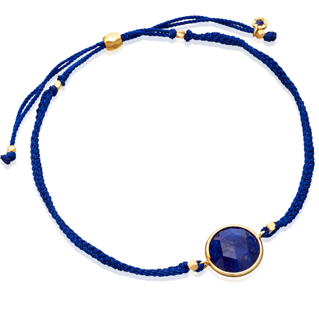 Lapis Polka Biography Bracelet