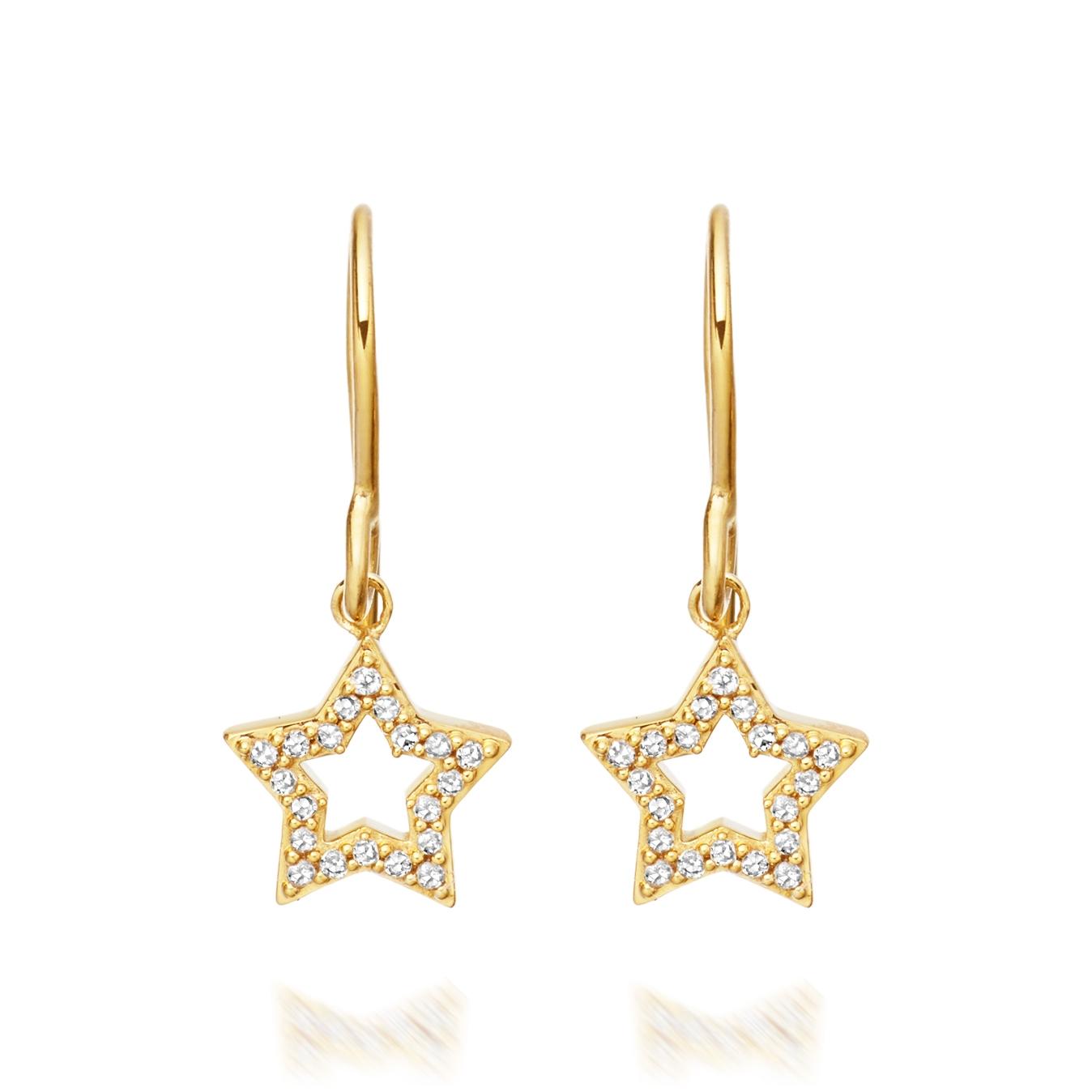 Open Super Star Earrings