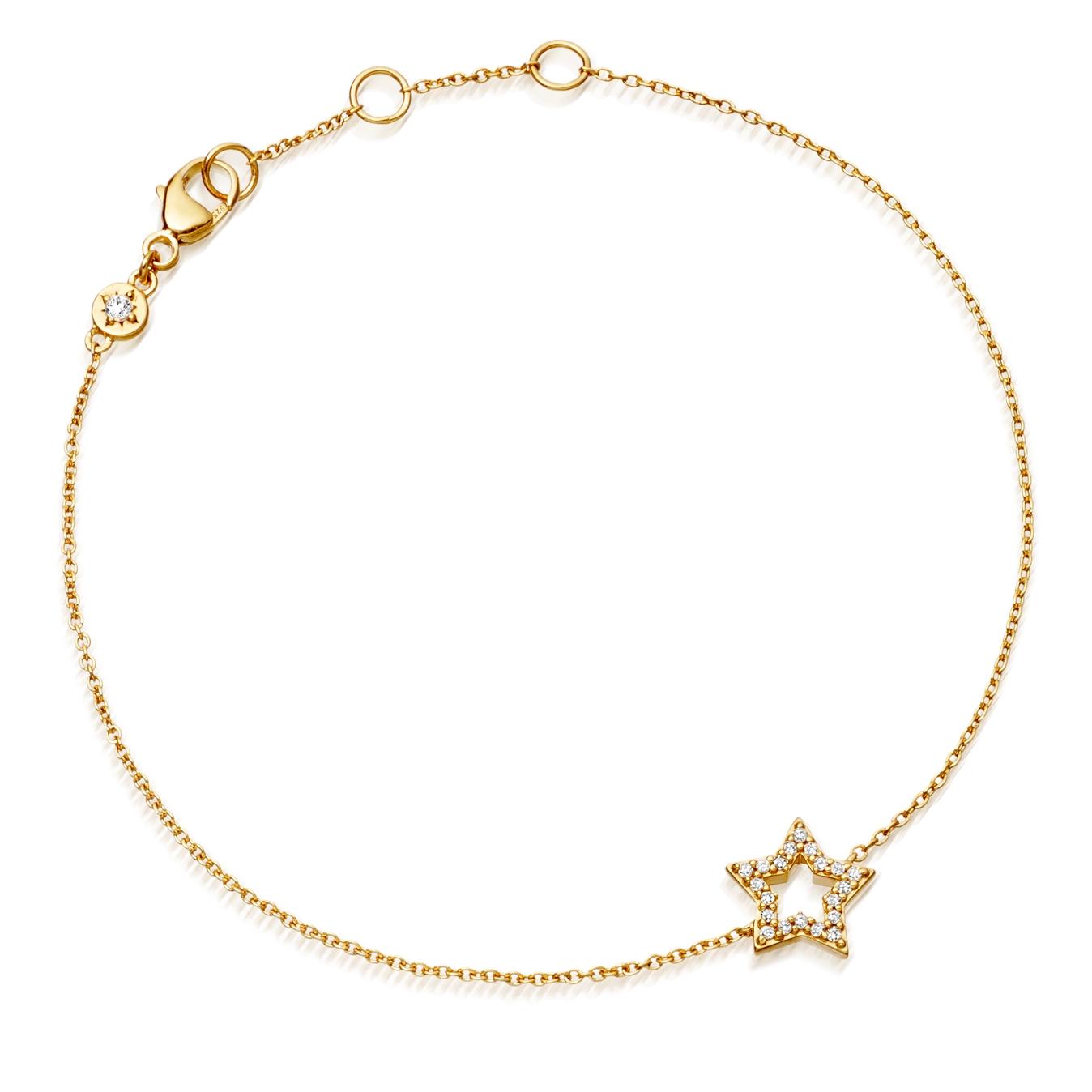 Open Super Star Bracelet