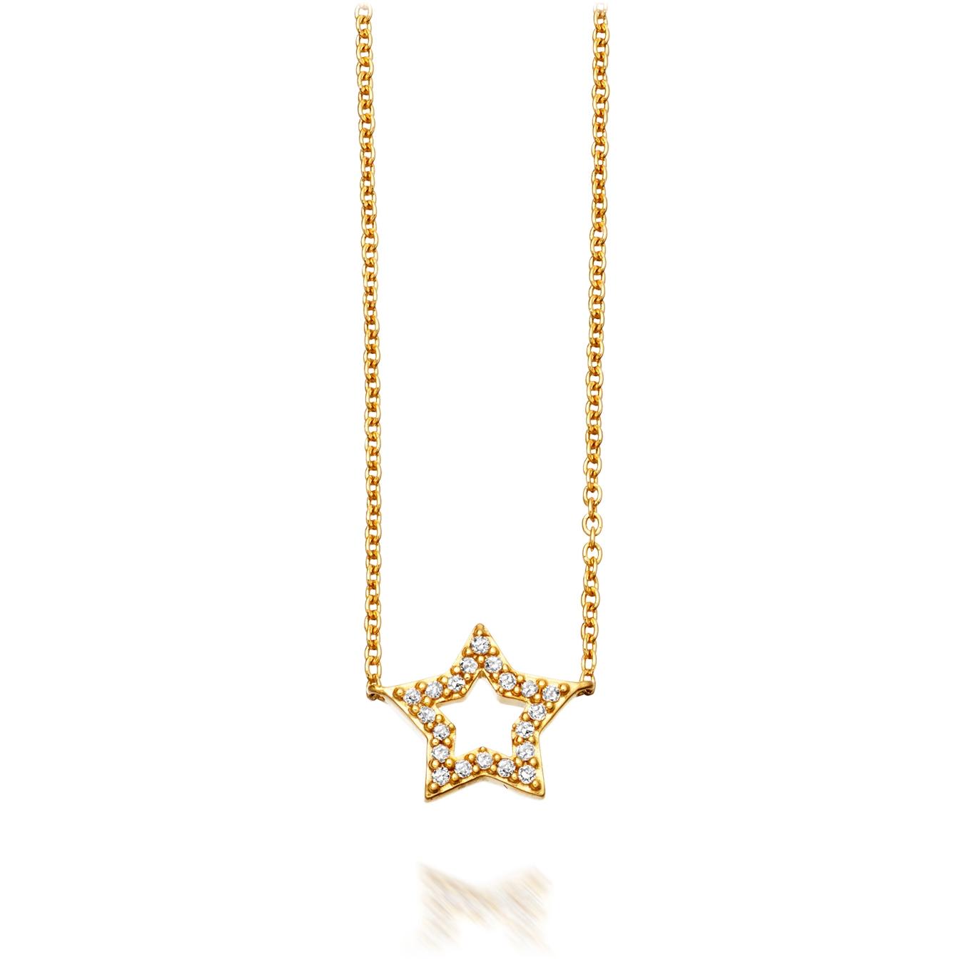 Open Super Star Pendant
