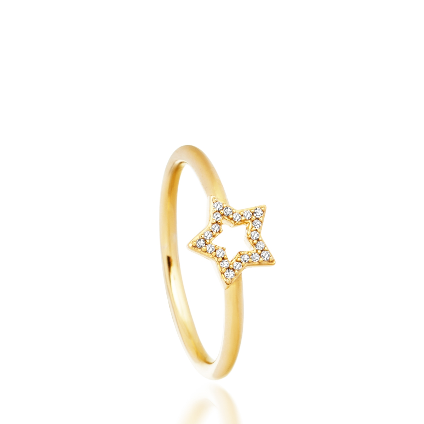 Open Super Star Ring