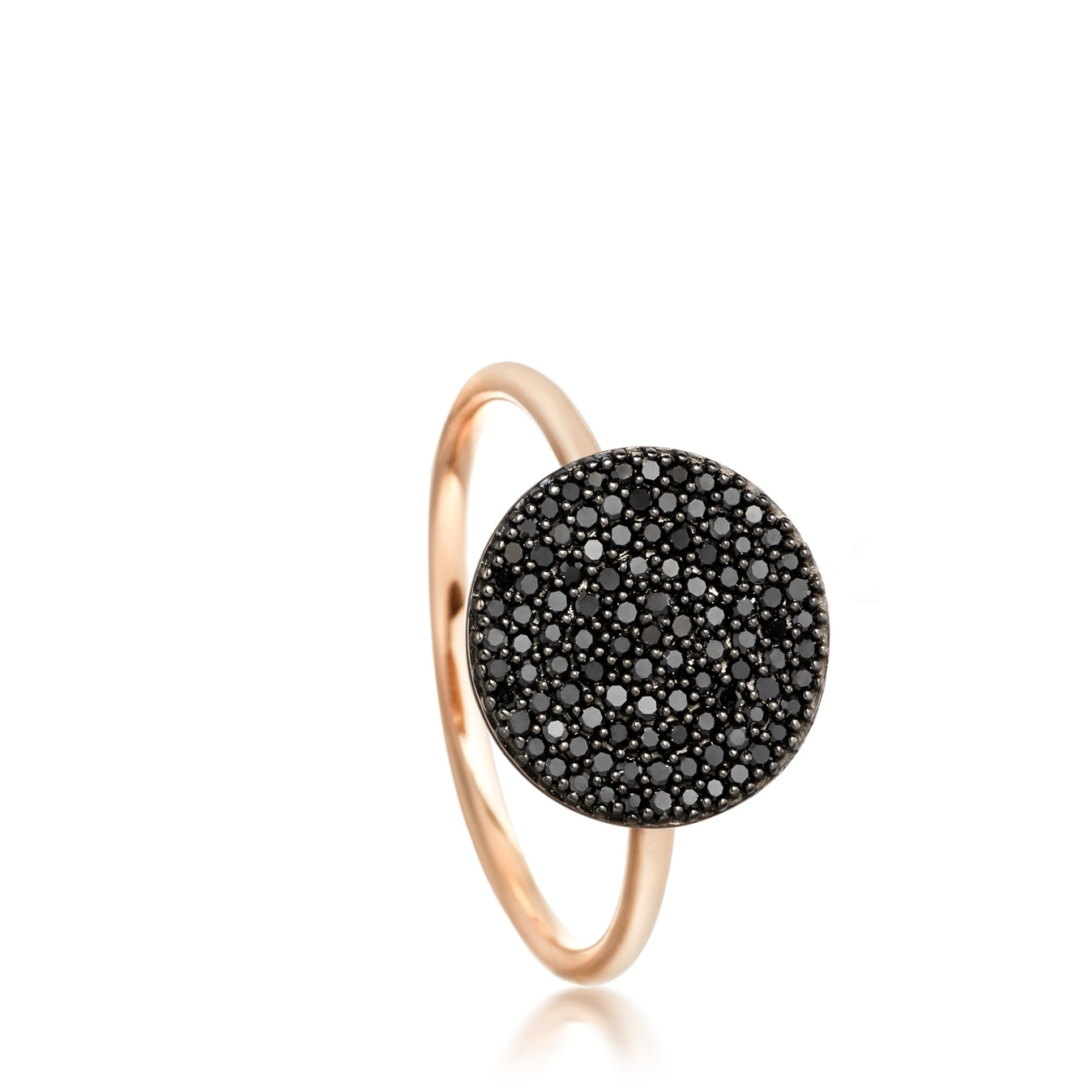 Icon Black Diamond Ring