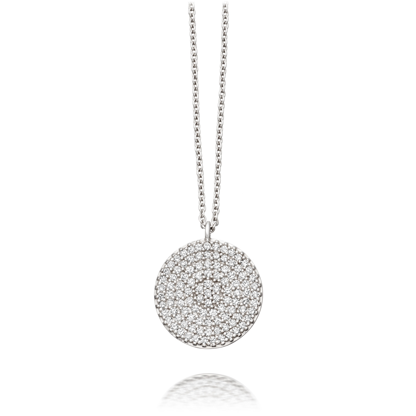 Icon Diamond Pendant Necklace