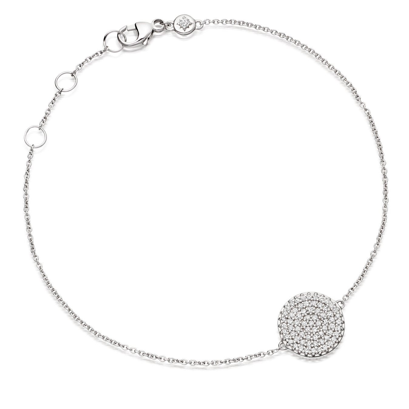 Small Icon Diamond Bracelet