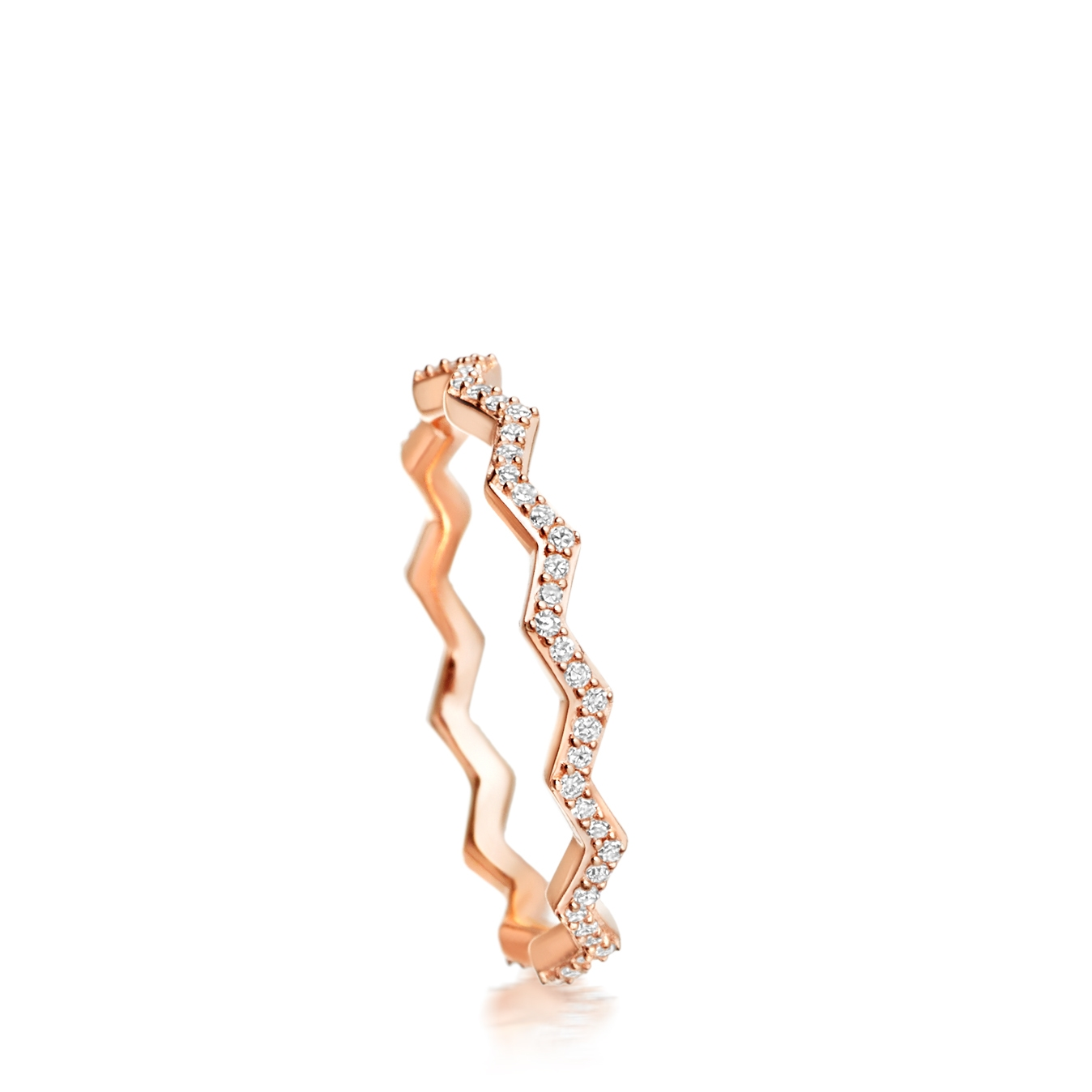 Varro Honeycomb Diamond Ring