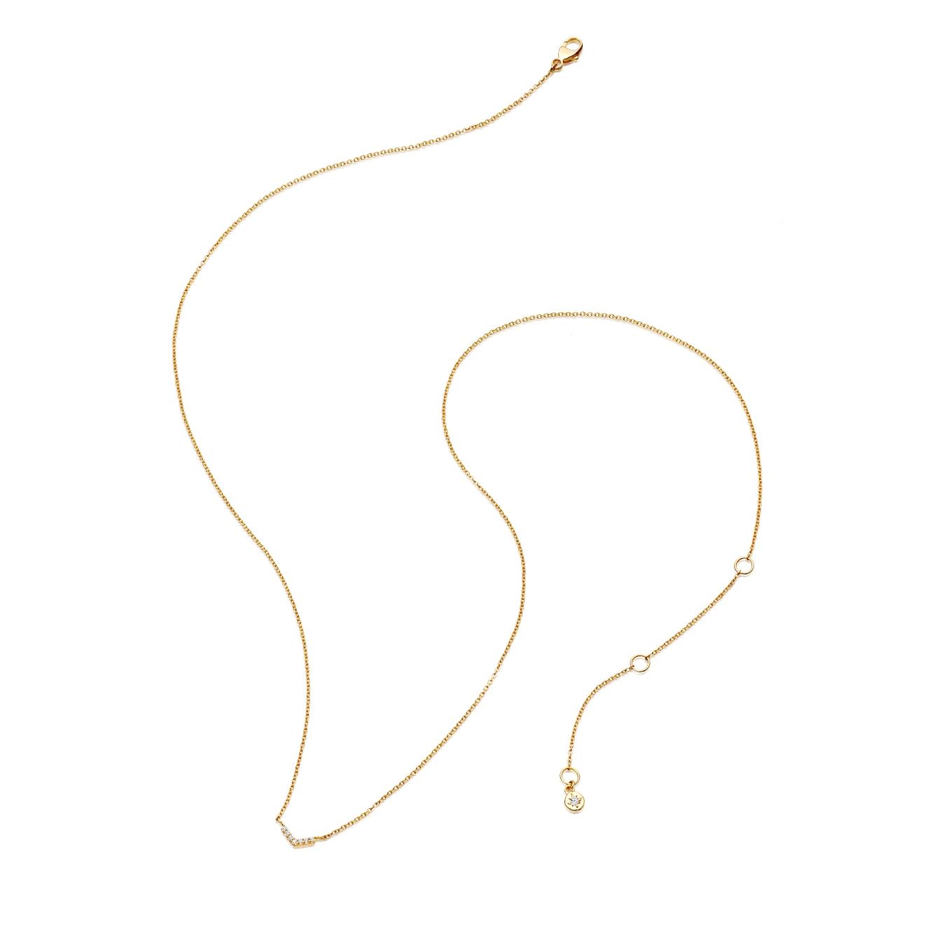 Varro Honeycomb Diamond Pendant Necklace