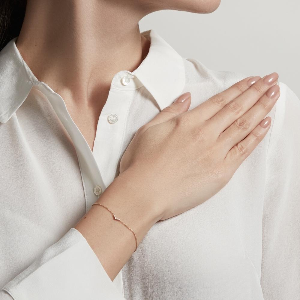 Varro Honeycomb Diamond Bracelet