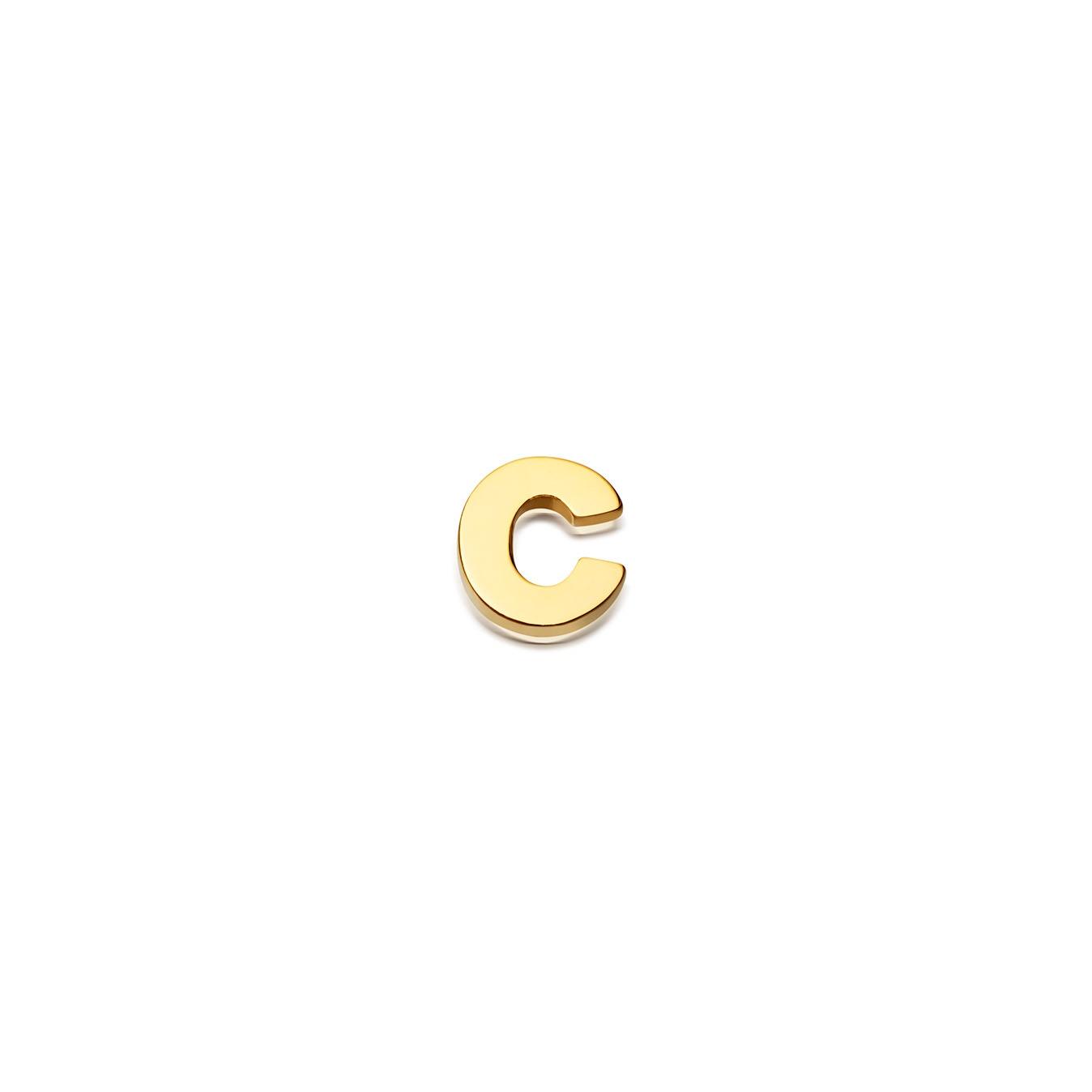 Initial 'C' Biography Pin