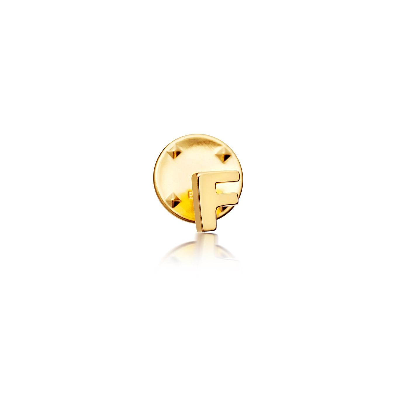 Initial 'F' Biography Pin
