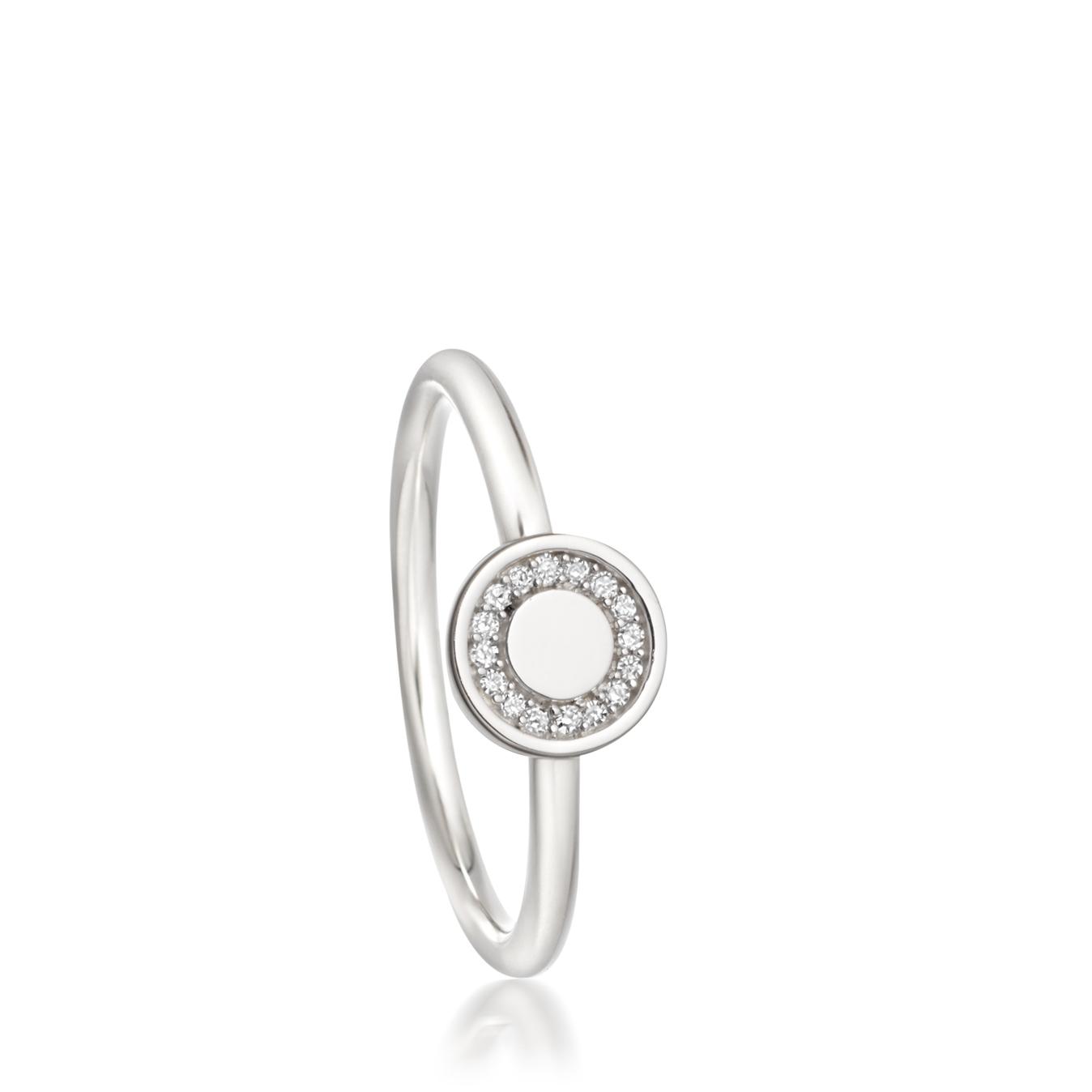 Mini Cosmos Diamond Ring