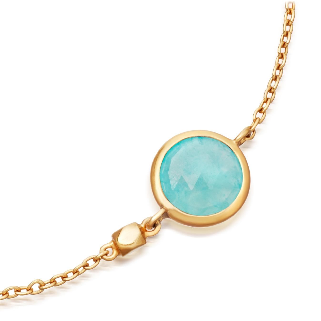 Mini Amazonite Round Stilla Bracelet