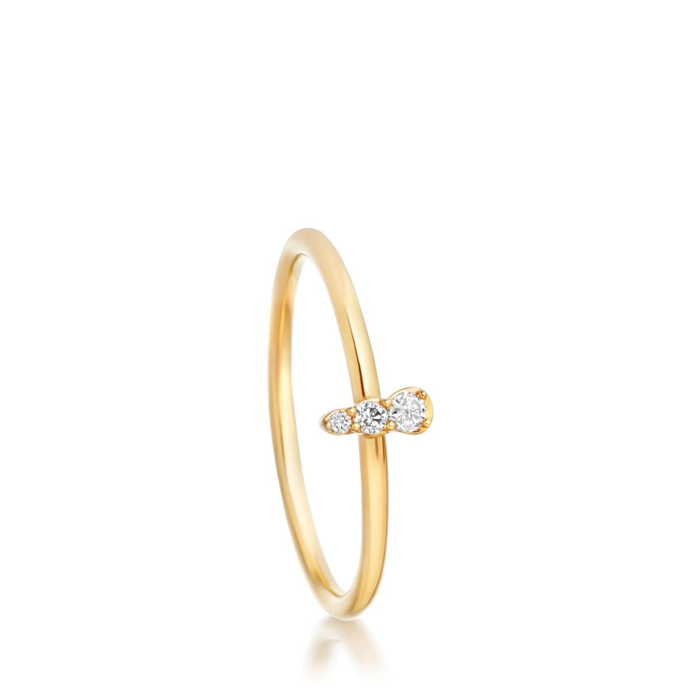 Mini Interstellar Diamond Ring