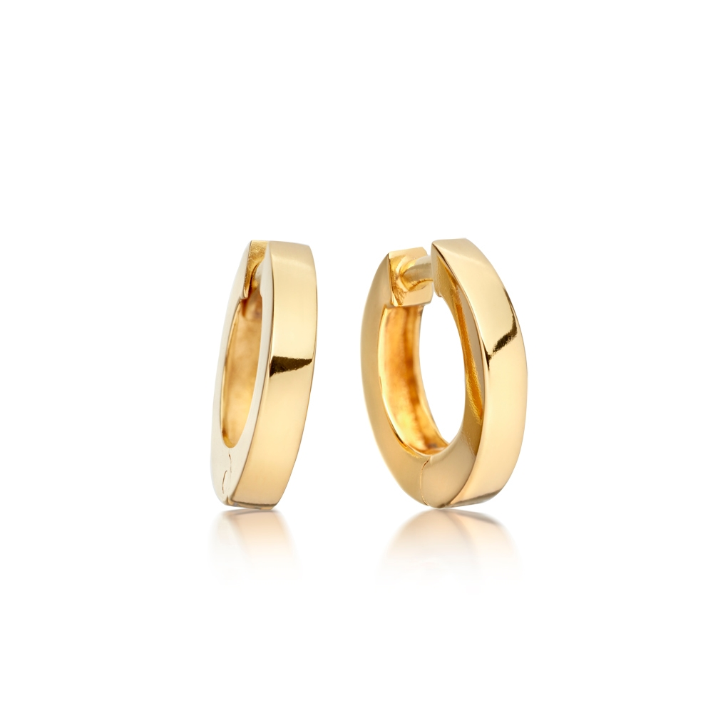 Mini Stilla Gold Hoop Earrings