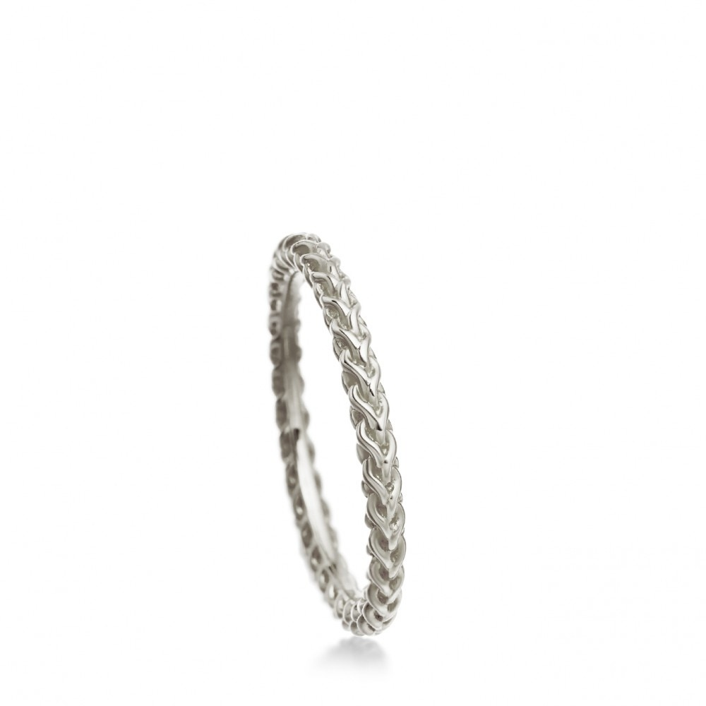 Silver Stilla Ring Stack