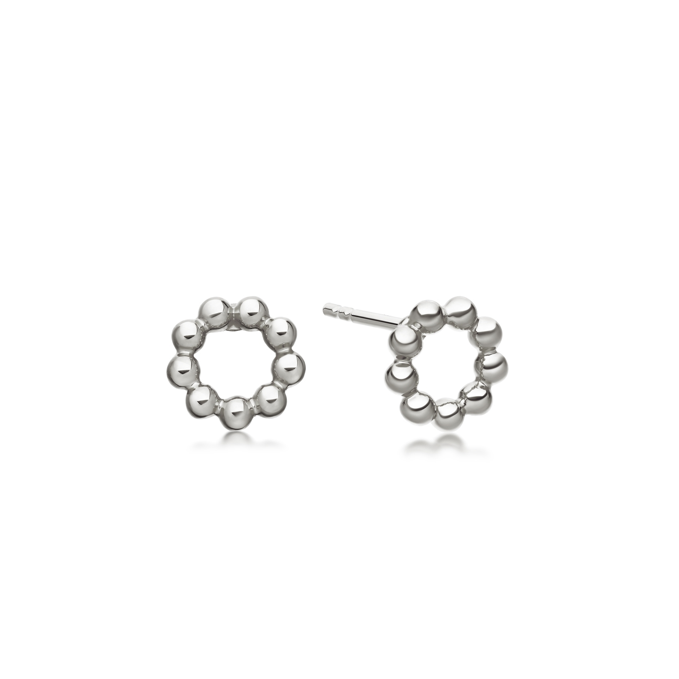 Beaded Stilla Stud Earrings
