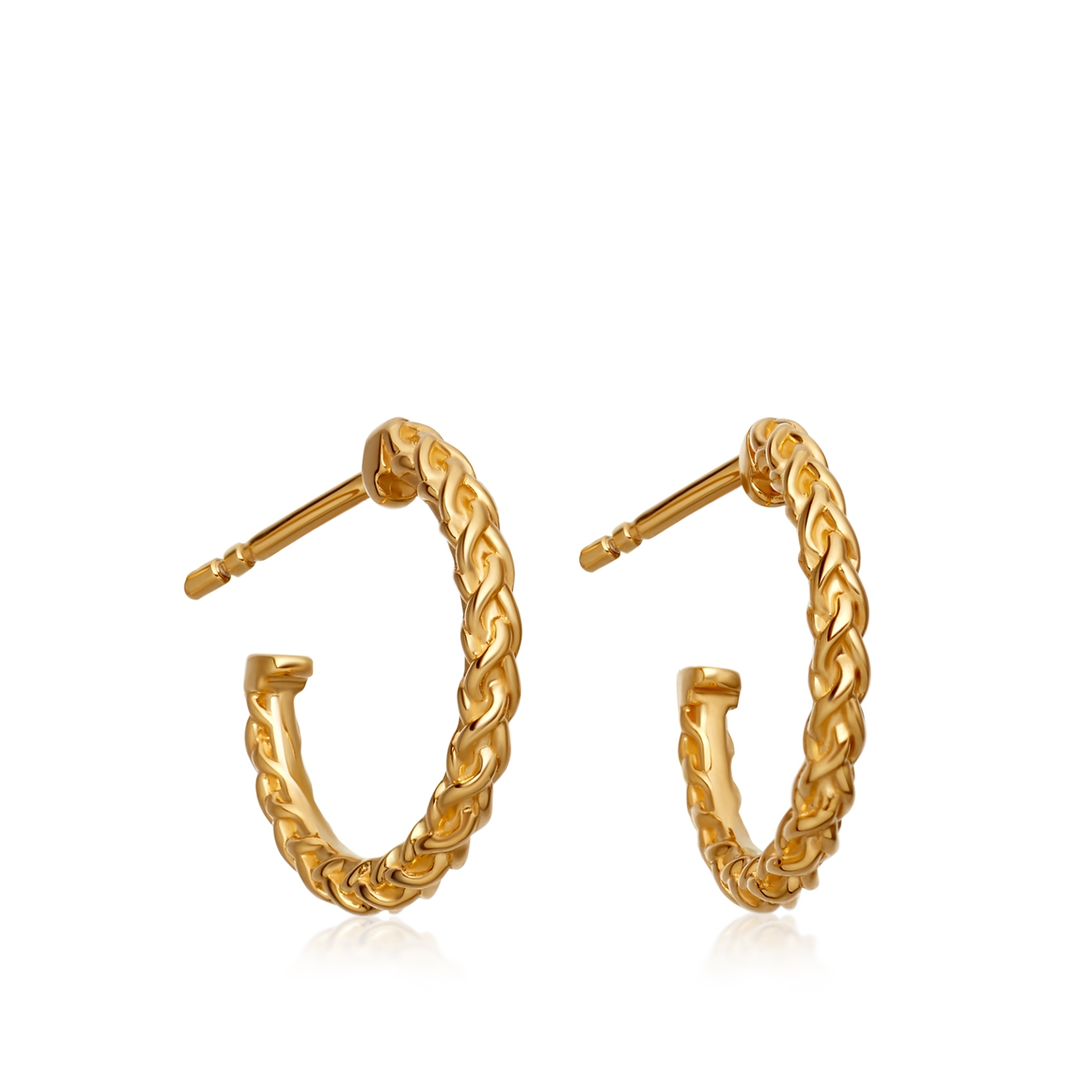 Mini Spiga Hoop Earrings