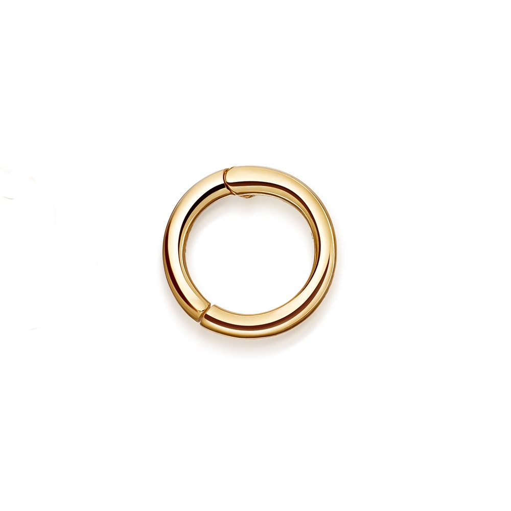 Tiny 14ct Single Cartilage Hoop Earring