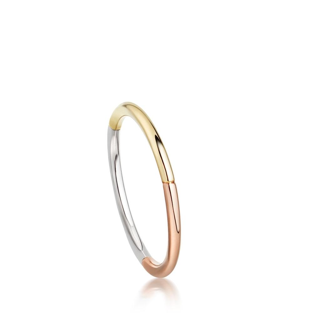 Tri-Piet Ring