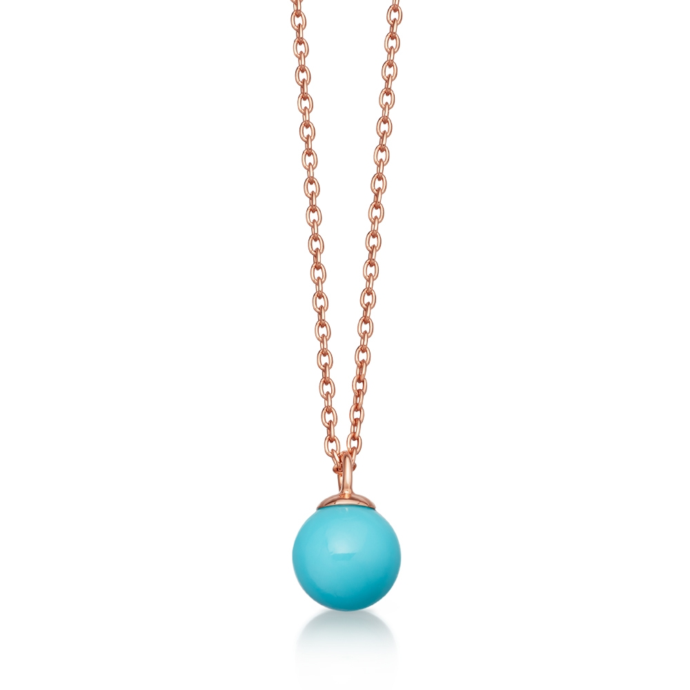 Peggy Turquoise Pendant Necklace