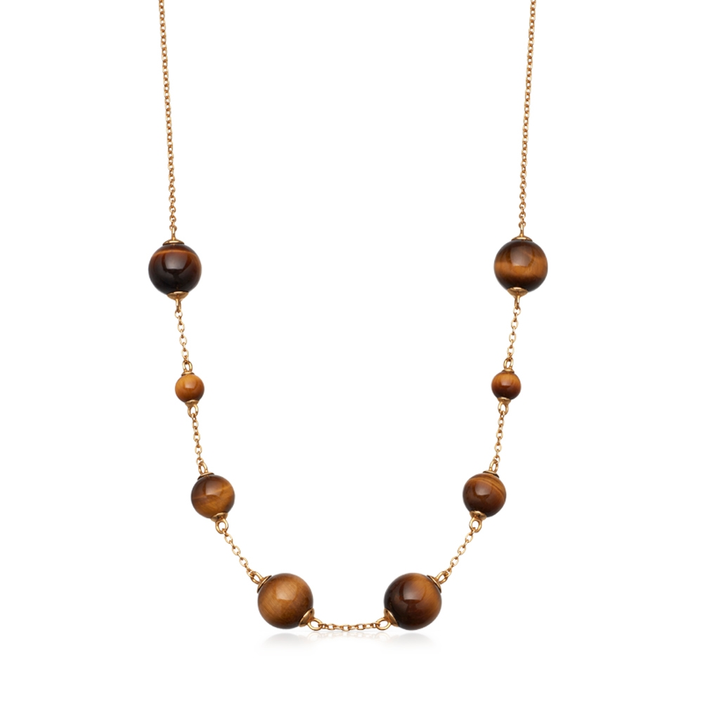 Tigers Eye Peggy Necklace