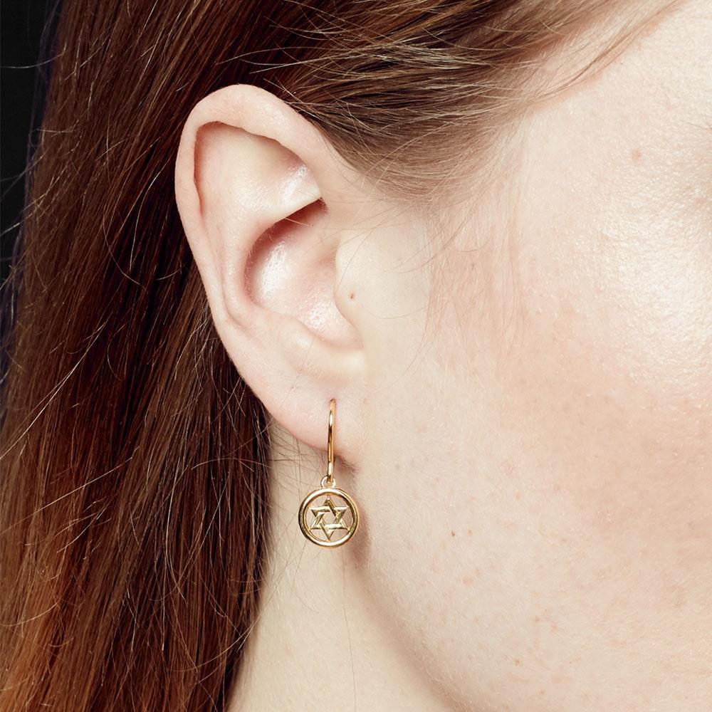 Star Biography Drop Earrings