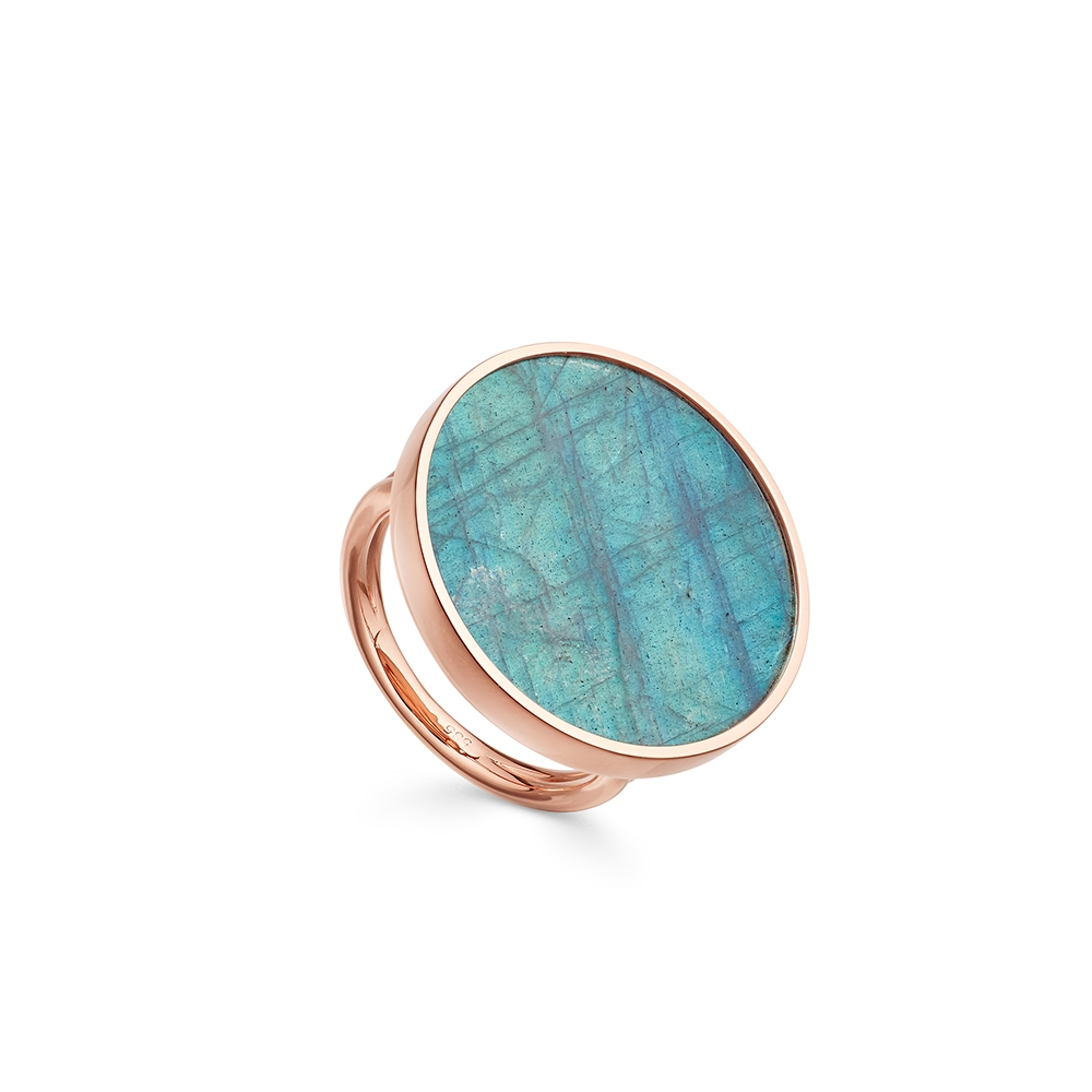 Labradorite Jupiter Ring
