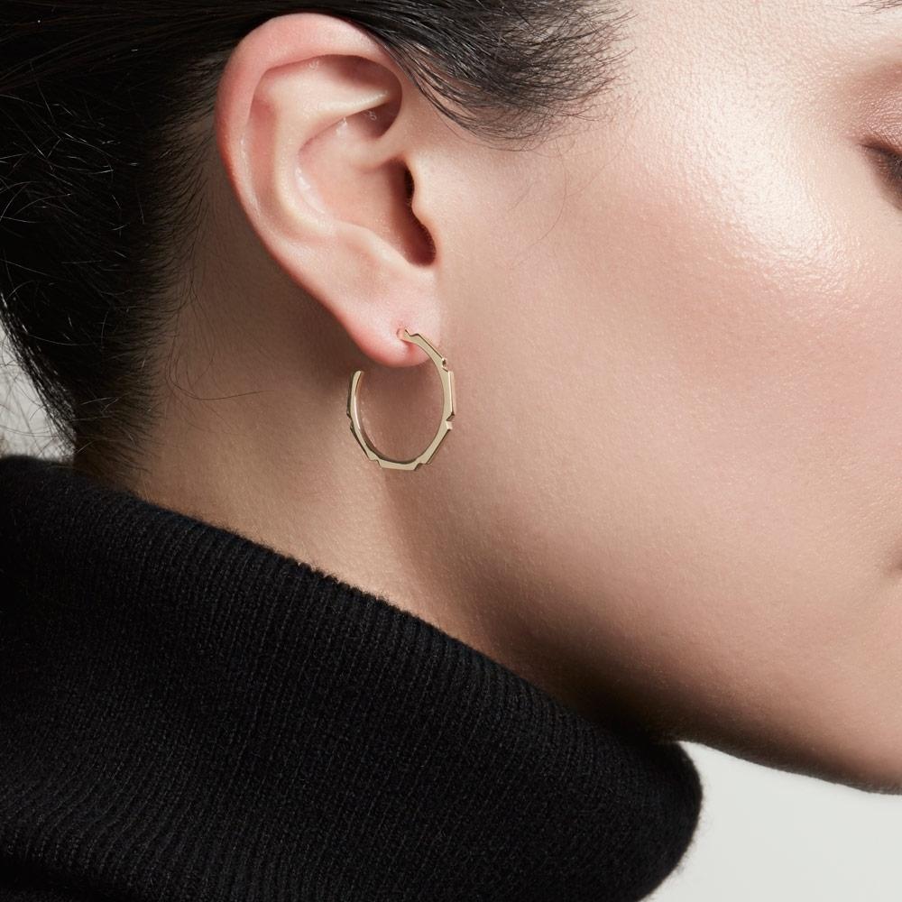 Aubar Large Hoop Earrings