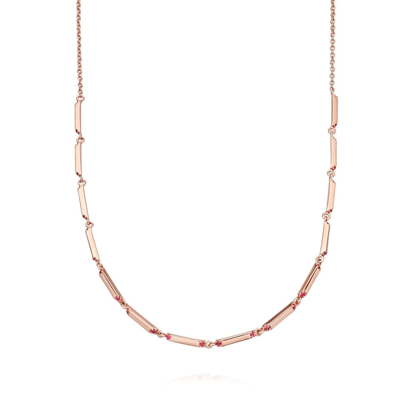 Aubar Ruby Necklace