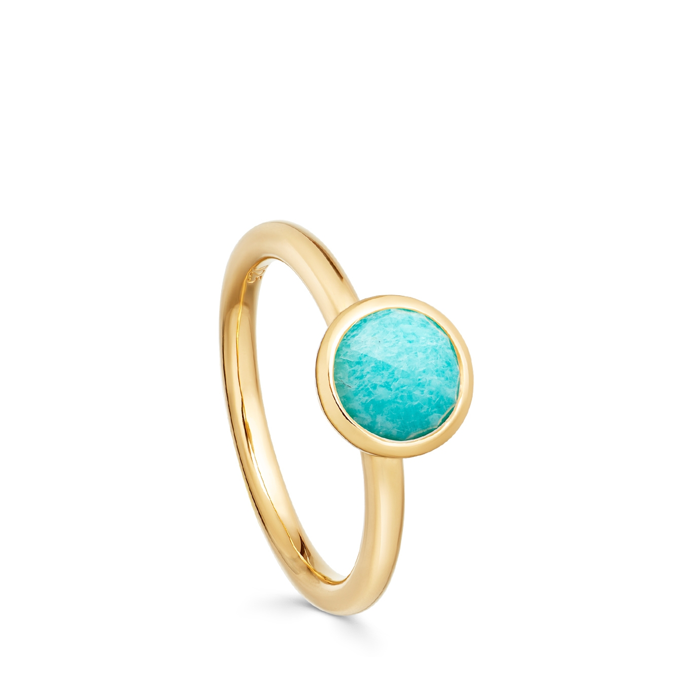 Mini Amazonite Stilla Ring