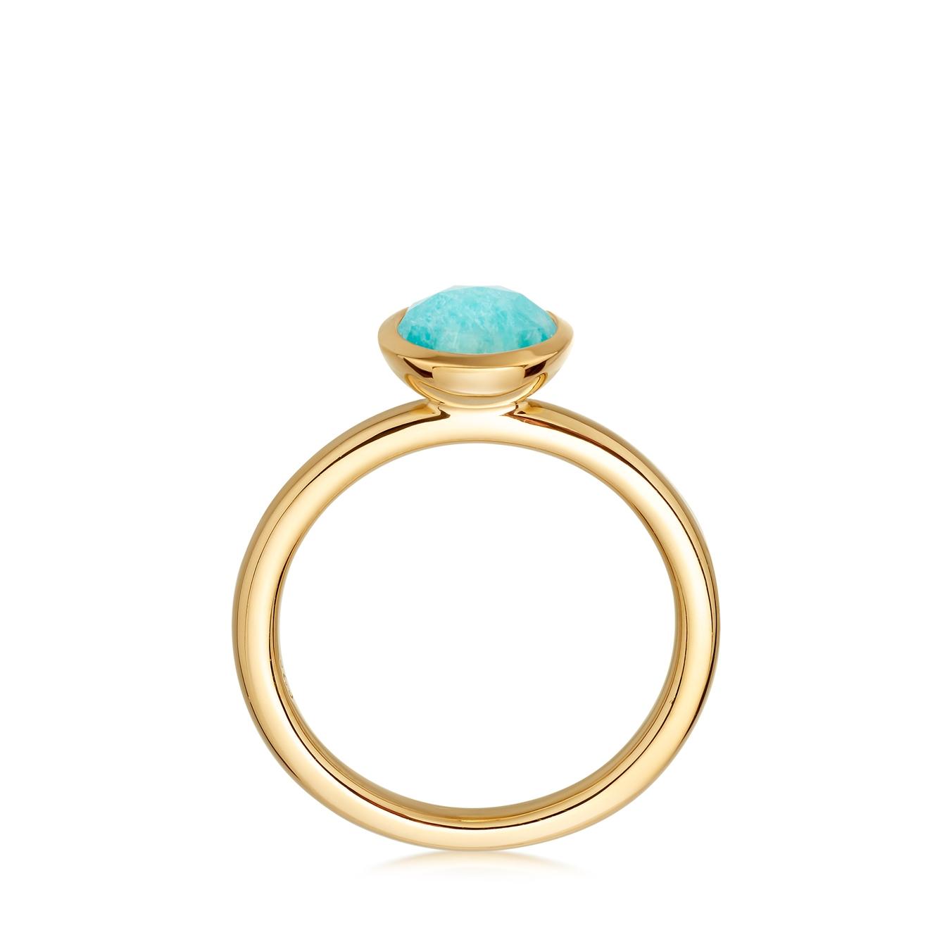 Mini Amazonite Stilla Ring