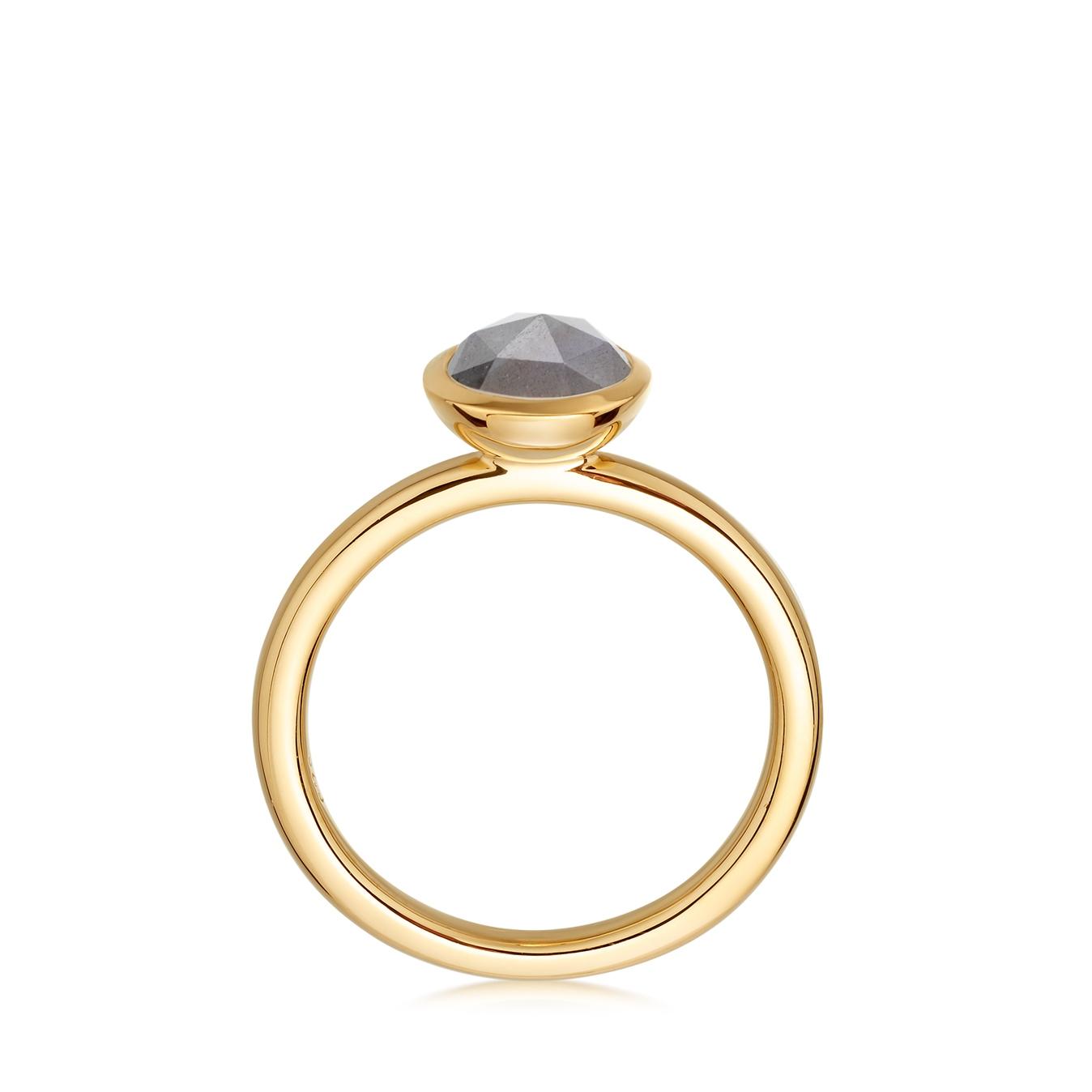 Mini Labradorite Stilla Ring