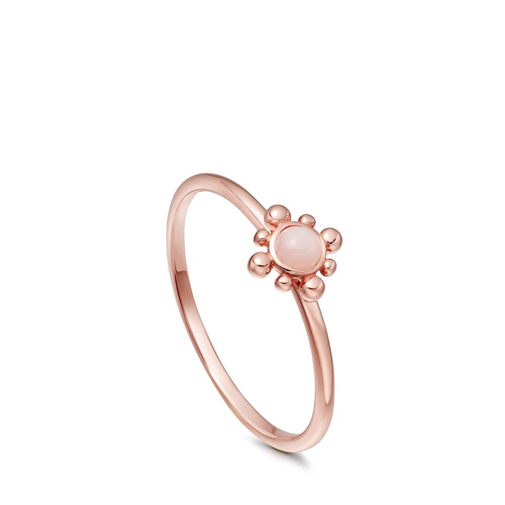 Pink Opal Mini Floris Ring