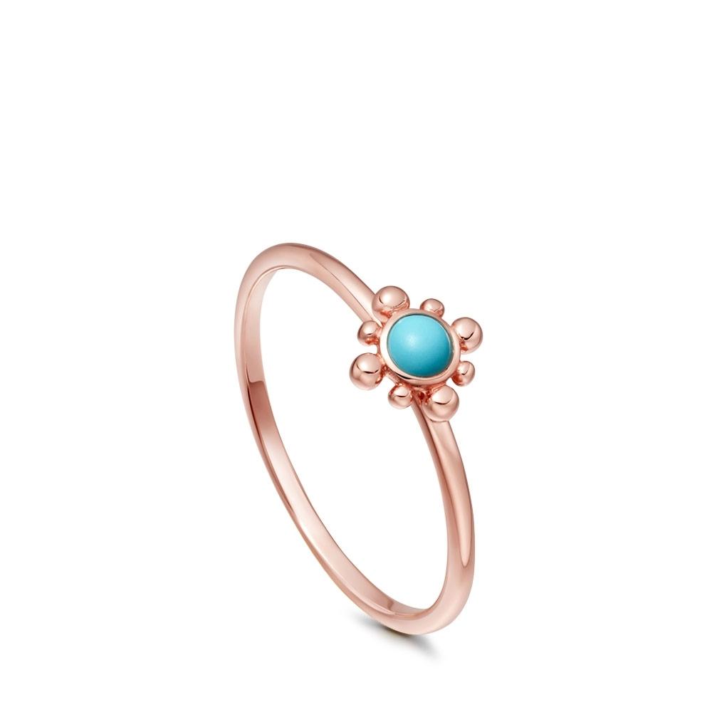 Turquoise Mini Floris Ring