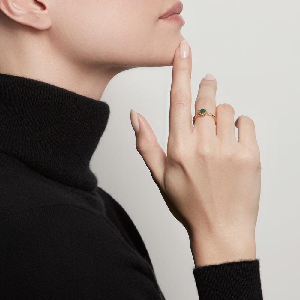 Malachite Floris Ring