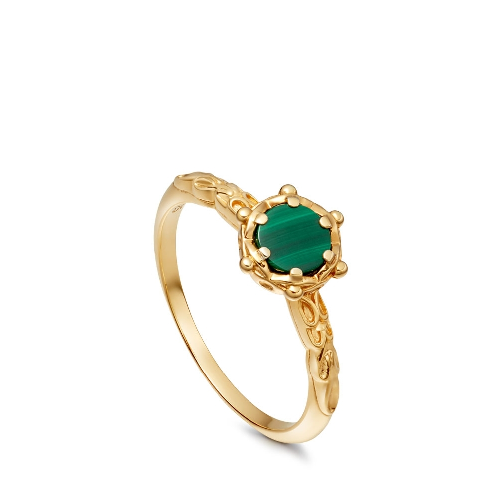 Malachite Floris Ring