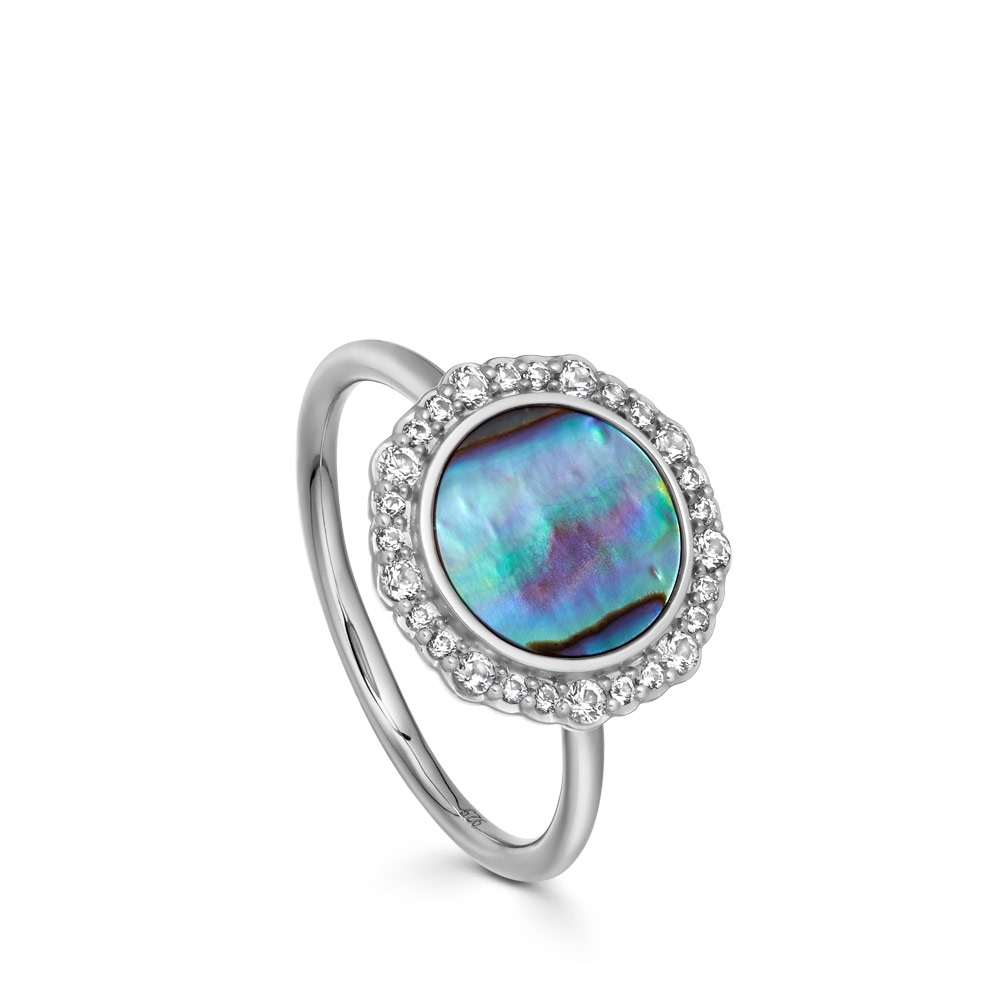 Luna Abalone Ring