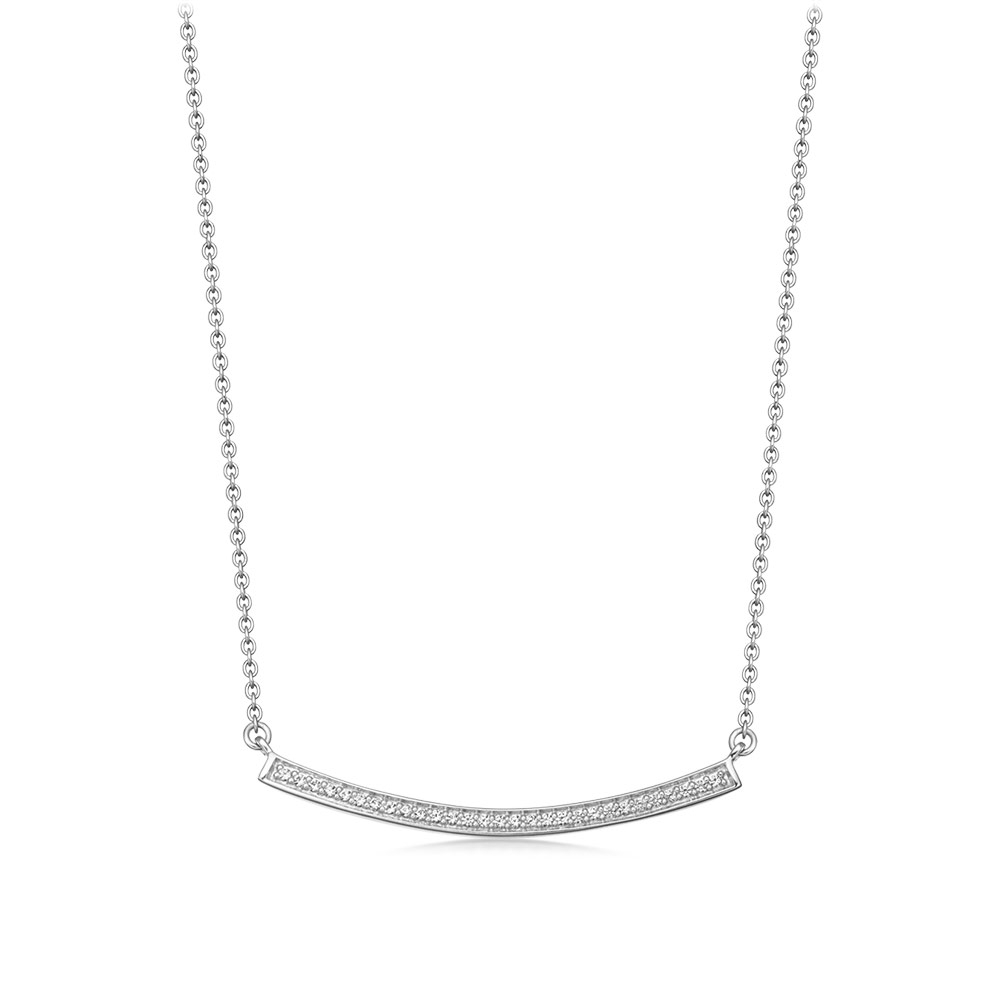 Sapphire Biography Pendant Necklace