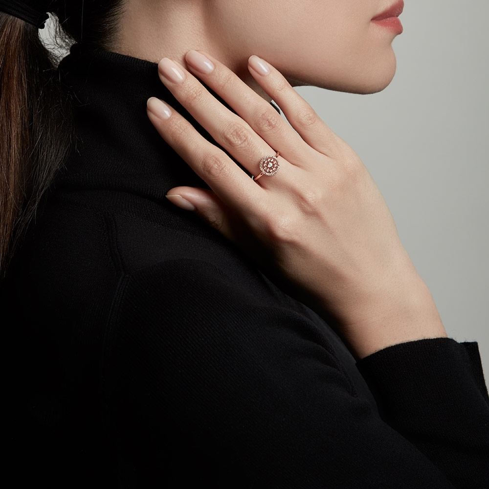 Medium Icon Nova Opal Ring