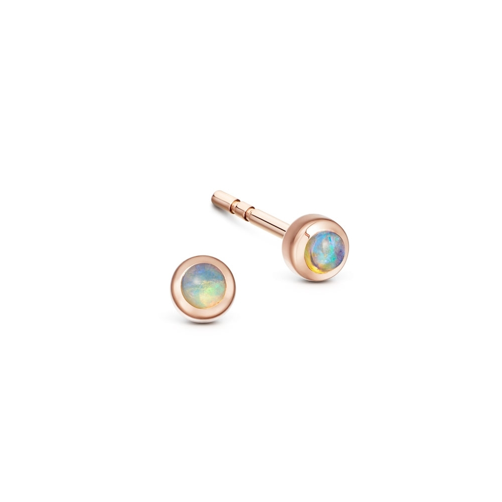 Mini Icon Nova Opal Stud Earrings