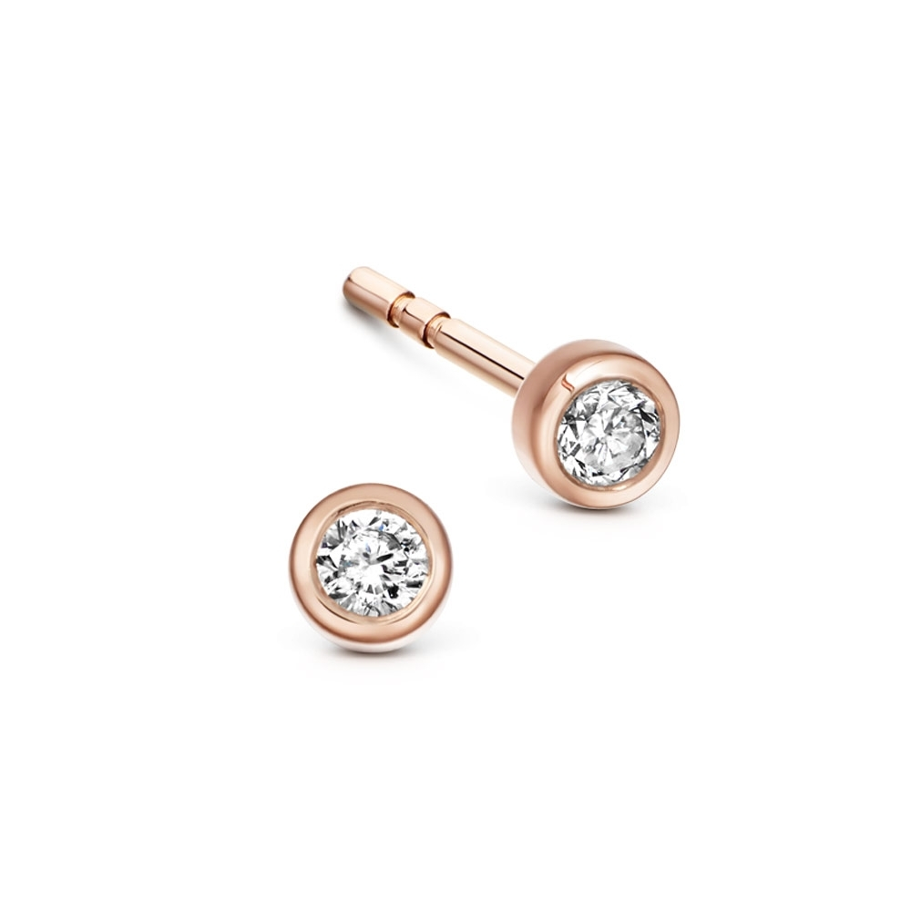 Icon Nova Diamond Stud Earrings