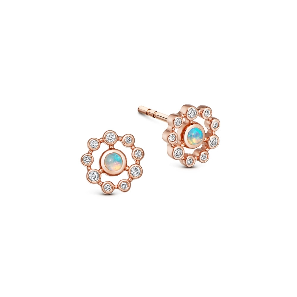 Icon Nova Opal Stud Earrings