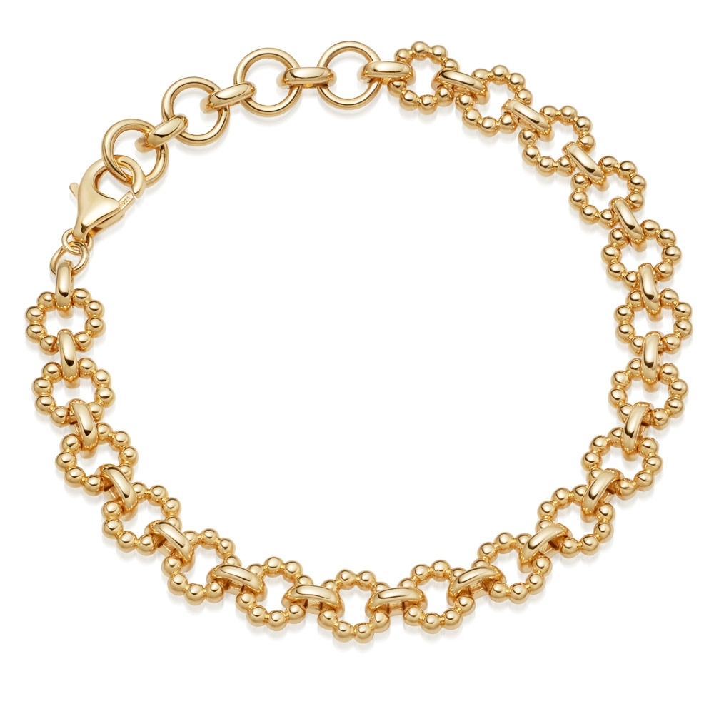 Stilla Arc Gold Chain Bracelet