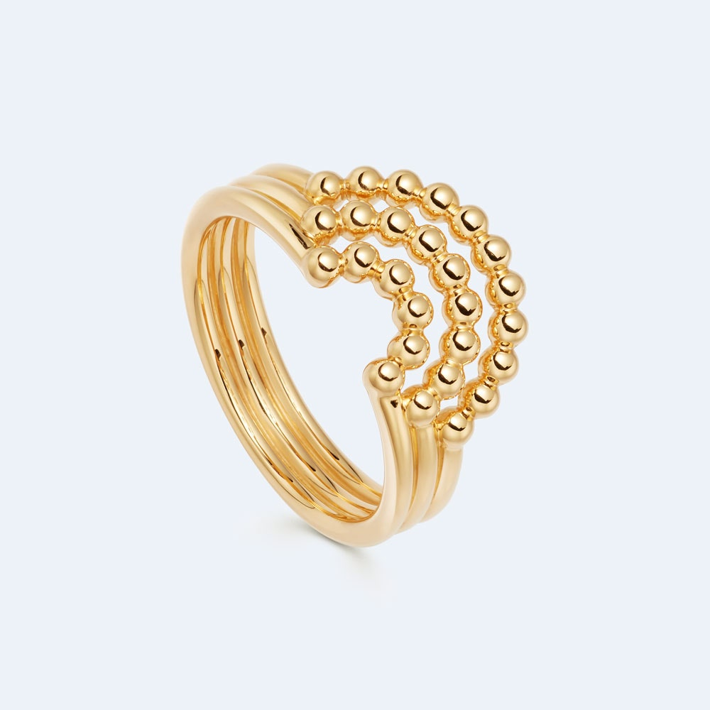 Stilla Arc Curve Ring