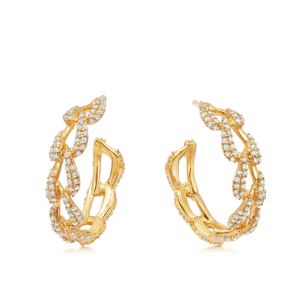 Vela Hoop Earrings