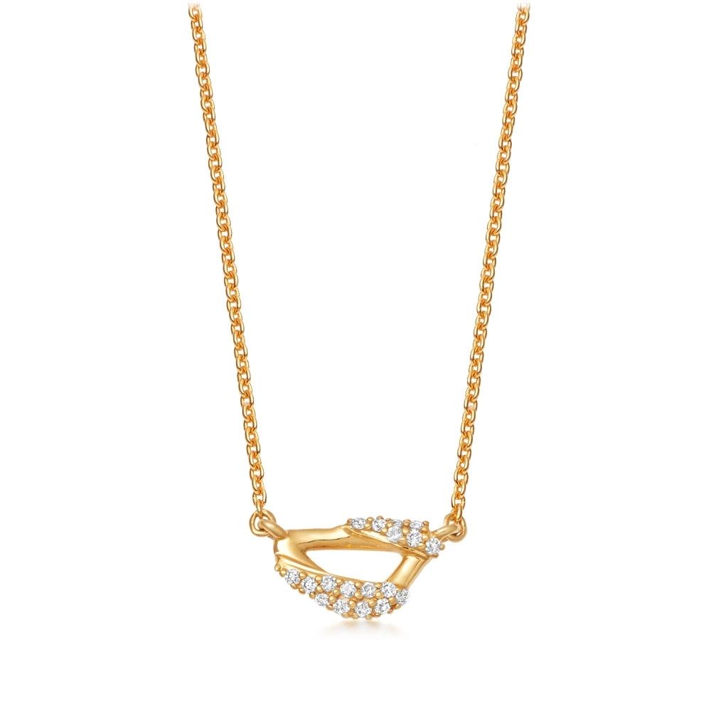 Mini Vela Pendant Necklace